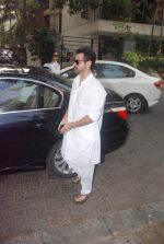 Sanjay Kapoor at Mona Kapoor funeral in Mumbai on 26th March 2012 (18).JPG