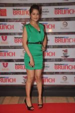 Yuvika Chaudhary at Shootout At Wadala promotions in HT Brunch on 26th March 2012 (46).JPG