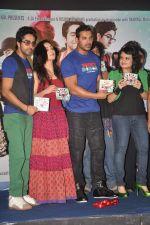 Ayushmann Khurrana, Yami Gautam, John Abraham at Vicky Donor music launch in Inorbit, Malad on 30th March 2012 (43).JPG