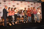 Shazahn, Zarine Khan, Sajid Khan, Akshay Kumar, Asin, Jacqueline Fernandez, Ritesh promote Housefull 2 at the launch of limited edition stocks of BH_s Game Of Fame in J W Marriott on 30th March 201 (82).JPG