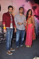 Emraan Hashmi, Kunal Deshmukh, Esha Gupta at Jannat 2 music launch on 3rd April 2012 (62).JPG