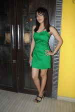 Anjali Pandey at Rohit Verma_s sis bash in Mumbai on 3rd April 2012.JPG