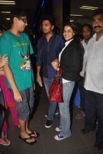Ritesh Deshmukh, Genelia D Souza with Housefull 2 Stars snapped at Airport in Mumbai on 4th April 2012 (79).JPG