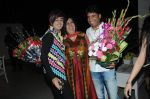 Rohit Verma, Swati and Raju Srivastav at Rohit Verma_s sis bash in Mumbai on 3rd April 2012.JPG