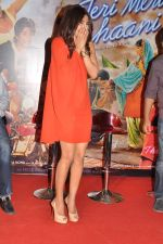 Priyanka Chopra at Teri Meri Kahaani theatrical trailor launch in Cinemax, Mumbai on 5th April 2012 (47).JPG
