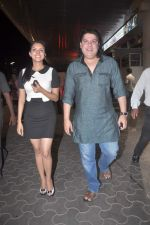 Asin Thottumkal, Sajid Khan at the Special screening of Housefull 2 hosted by Yogesh Lakhani on 6th April 2012 (26).jpg
