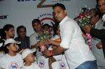 Prashant Shirsat honouring Akshay Kumar and Kids  at the Special charity screening of Housefull 2 for Cancer Aid Foundationon 6th April 2012.JPG