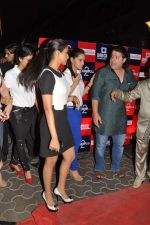 Shazahn Padamsee, Asin Thottumkal, Sajid Khan at the Special screening of Housefull 2 hosted by Yogesh Lakhani on 6th April 2012 (14).JPG