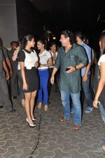 Shazahn Padamsee, Asin Thottumkal, Sajid Khan at the Special screening of Housefull 2 hosted by Yogesh Lakhani on 6th April 2012 (15).JPG