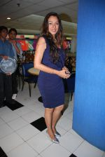 Rupali Ganguli at the Celebration of the Completion Party of 100 Episodes of PARVARISH�..kuch khatti kuch meethi in bowling alley on 7th April 2012.JPG