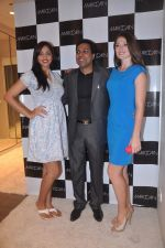 Dina Umarova, Mauli Dave at Marc Cain store in Juhu, Mumbai on 10th April 2012 (12).JPG