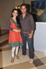 Varun Badola, Rajeshwari Sachdev at The Grand Bhagwat calendar launch in J W Marriott on 12th April 2012 (8).JPG