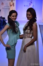 Gauhar Khan walk the ramp for Nitya Bajaj Show at ABIL Pune Fashion Weekon 14th April 2012 (1).JPG