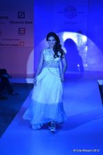Gauhar Khan walk the ramp for Nitya Bajaj Show at ABIL Pune Fashion Weekon 14th April 2012 (3).JPG