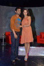 Sania Mirza, Shoaib Malik at  NDTV_s Raveena chat show inMumbai on 14th April 2012 (112).JPG