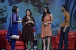 Sania Mirza, Shoaib Malik, Raveena Tandon, Farah Khan at  NDTV_s Raveena chat show inMumbai on 14th April 2012 (30).JPG