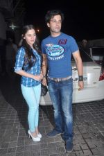 Aamir Ali, Sanjeeda Sheikh at Vicky Donor special screening hosted by John in PVR, Juhu, Mumbai on 19th April 2012 (72).JPG