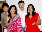 Mukesh Tyagi, Rituperna Sengupta, Aditya Pancholi And Vinita Menon  At Priyadarshan Success Party.JPG
