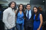 sky, pooja, sunil and kiran datwani at Gehna Jewellers celebrates 26years of excellence in Mumbai on 26th April 2012.JPG