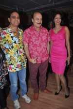 Anupam Kher, Bhairavi Goswami at Bhatti on Chutti msuic launch in Fun Republic on 7th May 2012 (15).JPG