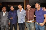 Akshay Kumar, Sunil Shetty, Mithun Chakraborty, Mimoh Chakraborty at the first look of movie Tukkaa Fit in Novotel, Mumbai on 11th May 2012 (8).JPG