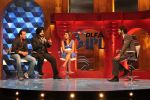 Sanjay Dutt, Navjot Singh Sidhu, Isa Guha on the sets of Extra Innings in R K Studios on 12th May 2012 (31).JPG