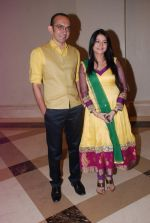 Shweta Choudhary, Chirag Vohra at Bhai Aur Bhaiyya serial launch by Vipul Shah in J W Marriott,  Mumbai on 15th May 2012 (82).JPG