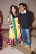 Shweta Choudhary, Vrajesh Hirjee at Bhai Aur Bhaiyya serial launch by Vipul Shah in J W Marriott,  Mumbai on 15th May 2012 (65).JPG
