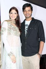 Dimple patel, Nimesh Srivastava at DELHI EYE first look unveiled by Rakesh Roshan in Filmistan Studio on 18th May 2012 (42).JPG