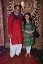 Surendra Pal at life ok new serial devon kedev mahadev shoot in Naigaon on 18th May 2012 (110).JPG
