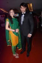Drashti Dhami and Vivian Dsena at Madhubala serial red carpet launch in Cinemax, Mumbai on 21st  May 2012 (151).JPG