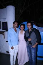 AD Singh,  Junelia Aguiar & Ash Chandler at Olive Bandra Celebrates release of the Film Love, Wrinkle- Free in Mumbai on 29th May 2012 (2).JPG