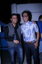 Ash Chandler & Designer Troy D_costa at Olive Bandra Celebrates release of the Film Love, Wrinkle- Free in Mumbai on 29th May 2012.JPG