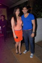 Tina Kuwajerwala, Hussain Kuwajerwala at Shrabani Deodhar_s birthday bash in Fat Cat Cafe on 6th June 2012 (40).JPG