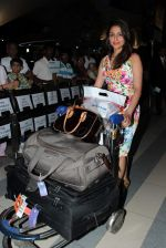 Aarti Chhabria return from Singapore after attending IIFA Awards in Mumbai on 11th June 2012 (74).JPG