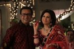 Gulshan Grover,Amrita Raichand in the still from movie Baat Ban Gayi  (40).JPG