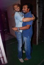 Ranveer Singh, Anurag Kashyap at gangs of wasseypur special screening in Mumbai on 16th June 2012 (100).JPG