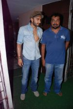Ranveer Singh, Anurag Kashyap at gangs of wasseypur special screening in Mumbai on 16th June 2012 (92).JPG
