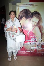 Farida Jalal at the music launch of Yeh Jo Mohabbat Hai in PVR, Juhu, Mumbai on 20th June 2012 (5).JPG