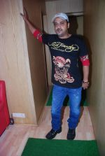 Sajid at the song recording of Himmat Wala on 20th June 2012 (16).JPG