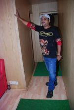 Sajid at the song recording of Himmat Wala on 20th June 2012 (17).JPG