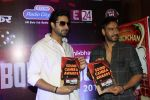 Abhishek  Bachchan, Ajay Devgan at Bol Bacchan promotions in Andheri, Mumbai on 23rd June 2012 (3).JPG
