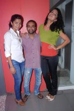 Ruhi Chaturvedi, Pitobash Tripathy, Gamya Wijayadasa at Alaap film interviews in Andheri, Mumbai on 27th June 2012 (25).JPG
