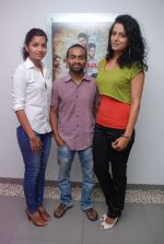 Ruhi Chaturvedi, Pitobash Tripathy, Gamya Wijayadasa at Alaap film interviews in Andheri, Mumbai on 27th June 2012 (6).JPG