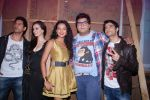 Prateek Chakravorty, Bidita Bag, Sharad Malhotra,  Evelyn Sharma, Karan Sagoo at the music launch of Sydney with Love in Juhu, Mumbai on 28th June 2012 (6).JPG