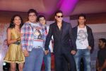 Prateek Chakravorty, Bidita Bag, Sharad Malhotra, Akshay Kumar, Evelyn Sharma, Karan Sagoo at the music launch of Sydney with Love in Juhu, Mumbai on 28th June 2012 (43).JPG