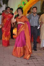 Vyjayanthimala at Esha Deol_s wedding in Iskcon Temple on 29th June 2012 (168).JPG
