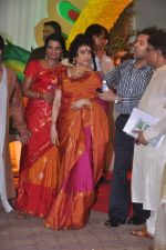 Vyjayanthimala at Esha Deol_s wedding in Iskcon Temple on 29th June 2012 (169).JPG