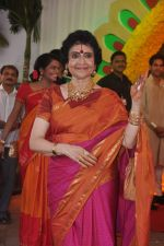 Vyjayanthimala at Esha Deol_s wedding in Iskcon Temple on 29th June 2012 (173).JPG