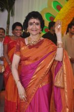 Vyjayanthimala at Esha Deol_s wedding in Iskcon Temple on 29th June 2012 (174).JPG
